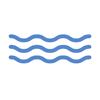 Ícone de ondas